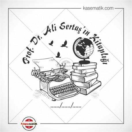 K 148 Dünya Daktilo Kitap Temalı