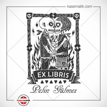BK 14 Büyük Boy Ex Libris