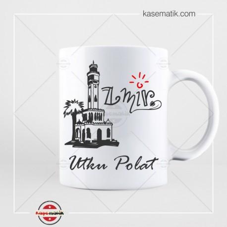 KB 5 İzmir Tasarımlı Kupa Bardak