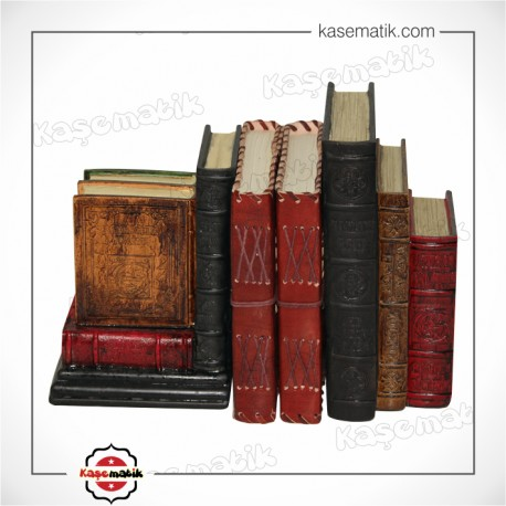 Kitap Tutucu Kitap Temalı