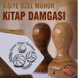 SP 11 Basketbol, Voleybol, Tenis Topu Kitap Mührü