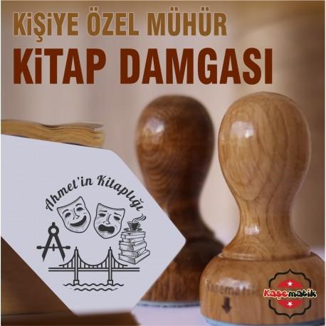 K 349 Tiyatrocu Mimar Kitap Mührü