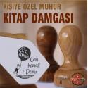 K 350 Balonla Uçan Çocuk Ex Libris Mühür