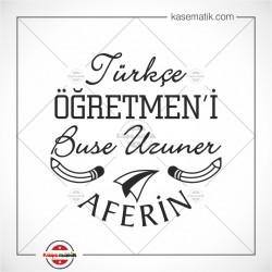 EG 42 Türkçe öğretmeni Aferin Mührü
