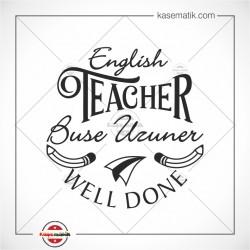 EG 44 İngilizce öğretmeni Well Done Mühür