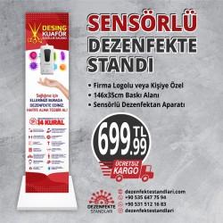 Sensörlü Dezenfekte Standı