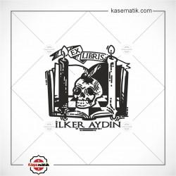 BK 34 Kuru Kafa Ex Libris Mühür