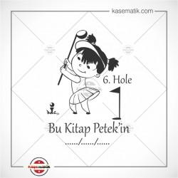 SP 6 Golf Oynayan Küçük Kız