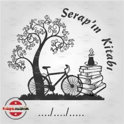 K 6 Ağaç Bisiklet ve Kitap