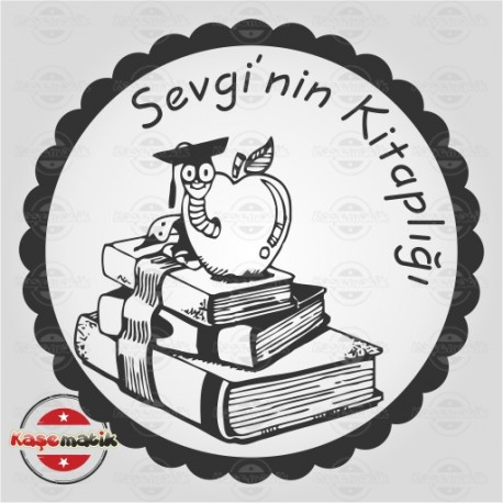 K 7 Kitabın Üstündeki Elma Kurdu