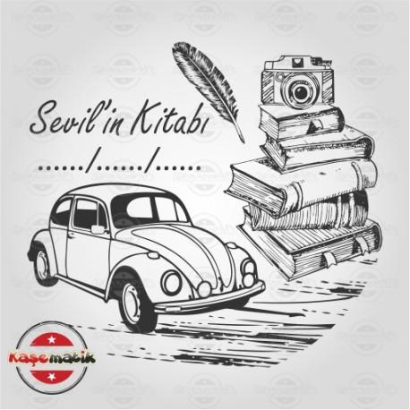 K 67 Vosvos Araba ve Kitaplar
