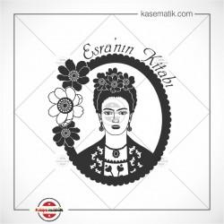 K 86 Frida Kahlo Kitap Mührü