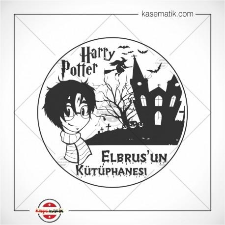 K 101 Harry Potter Kitap Damgası