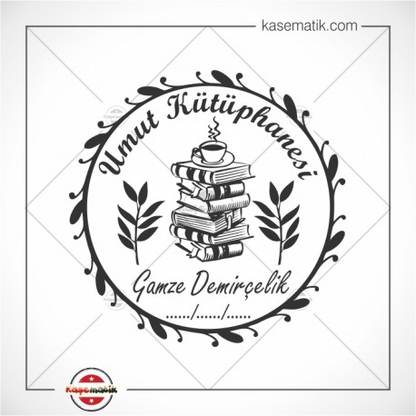 K 111 Kitap Kahve Defne Yaprağı
