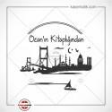 K 140 İstanbul Görünümlü Kitap Damgası